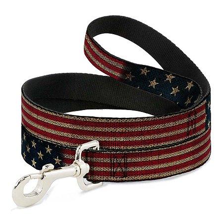 Поводок для собак Buckle-Down Флаг США Мультиколор