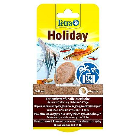 Корм для рыб Tetra Holiday отпуск 14 дней твердый гель 30 г