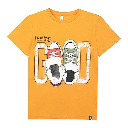 Футболка PlayToday оранжевая