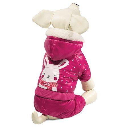 Комбинезон для собак Triol Зайка зимний S Розовый