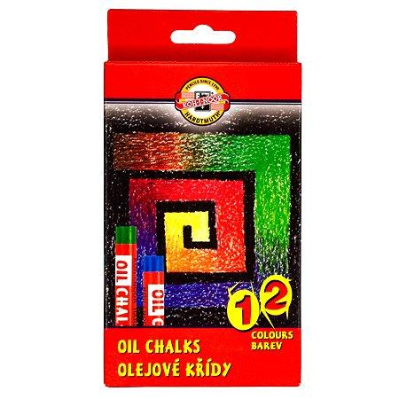 Мелки масляные Koh-I-Noor 12цветов 8312012001KS