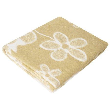 Одеяло байковое Ермошка Мишка с цвет Бежевое 57-4 ЕТОЖ