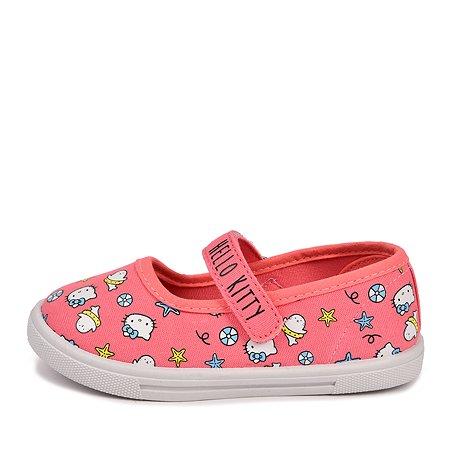 Туфли Hello Kitty коралловые