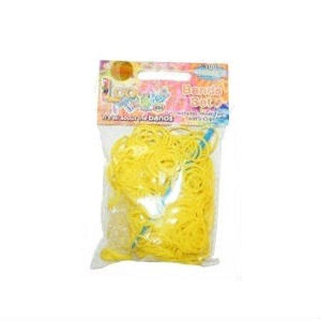 Набор для плетения браслетов LOOM TWISTER из ароматизированных резинок (желтый)