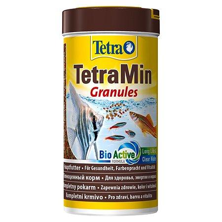 Корм для рыб Tetra Min Granules всех видов в гранулах 250 мл