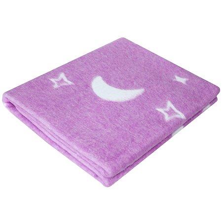 Одеяло байковое Ермошка Ночка Индиго 57-4 ЕТОЖ