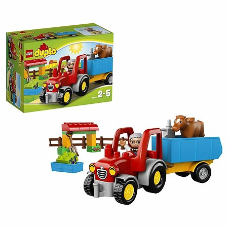 Конструктор LEGO DUPLO Town Сельскохозяйственный трактор (10524)