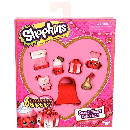 Набор Shopkins Сладкое Сердечко в непрозрачной упаковке (Сюрприз)