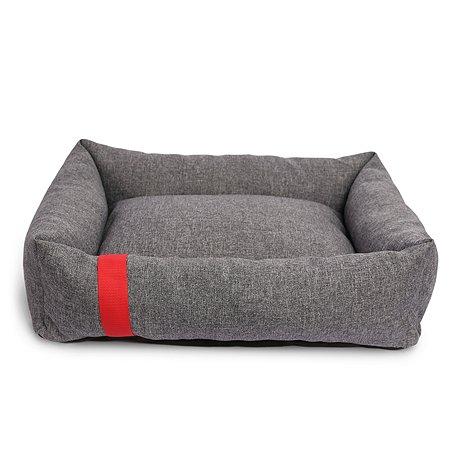 Лежак для собак и кошек Зоогурман Антураж Серый