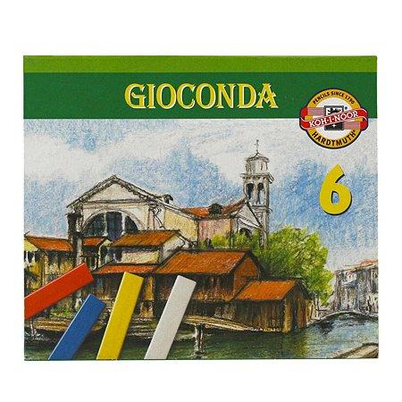 Мелки масляные Koh-I-Noor Gioconda 6цветов 8111006002SV