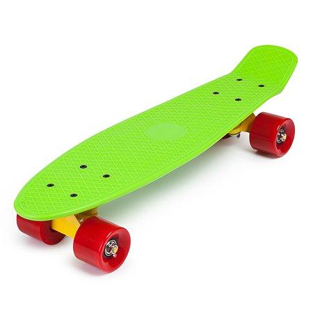Скейтборд Kreiss 57 см зеленый