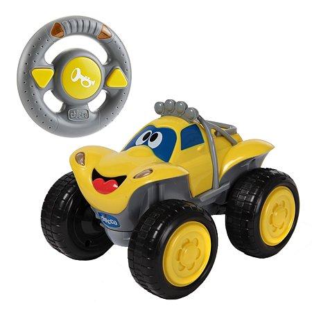 Машинка Chicco Билли-большие колеса желтая