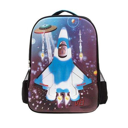 Рюкзак 3D-Bags Самолет(черный)