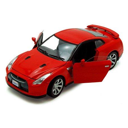 Автомобиль MOTORMAX 1:24 2008 Nissan GTR
