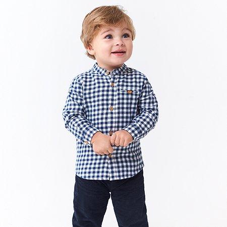 Рубашка Baby Gо синяя