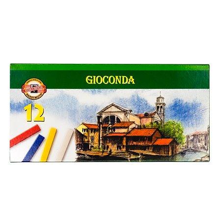Мелки масляные Koh-I-Noor Gioconda 12цветов 8112012002SV