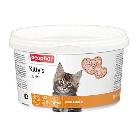 Витамины для котят Beaphar Kittys Junior со вкусом рыбы 1000таблеток