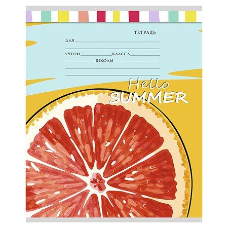Тетрадь Prof Press Яркие фрукты А5 Клетка 12л в ассортименте 12-5656
