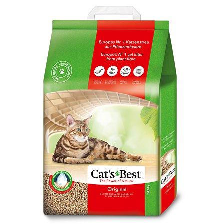 Наполнитель для кошек Cats Best Original древесный комкующийся 8.6 кг