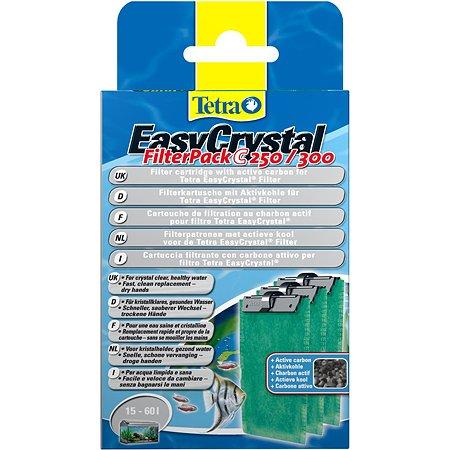 Картриджи Tetra EC 250/300 фильтрующие с углем для внутренних фильтров EasyCrystal 250/300 3шт