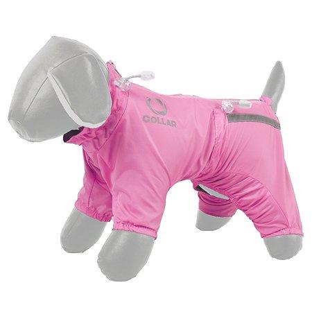Комбинезон для собак CoLLar №18 утепленный Розовый 18057