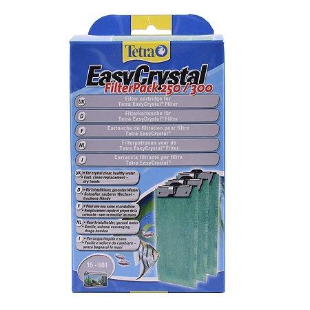 Картриджи Tetra EC 250/300C фильтрующие для внутренних фильтров EasyCrystal 250/300 3шт