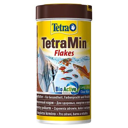 Корм для рыб Tetra Min всех видов Хлопья 250мл