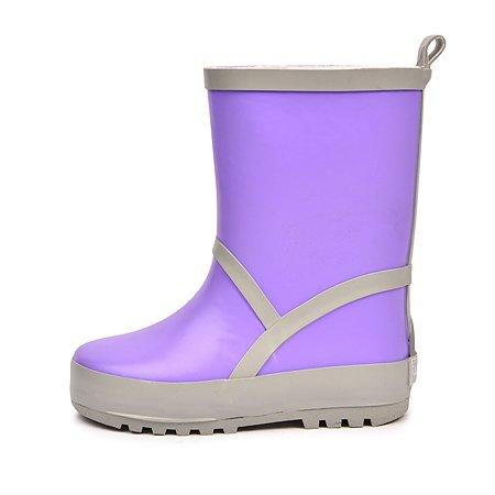 Резиновые сапоги Wappo фиолетовые