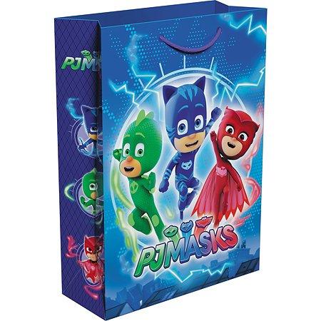 Пакет подарочный PJ masks Герои в масках 25*9*5см 36460