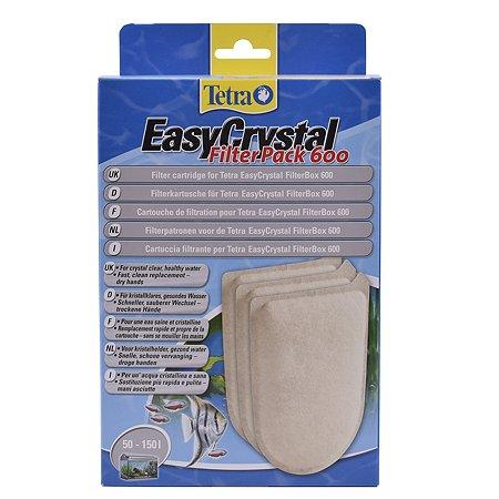 Картриджи Tetra EC 600 фильтрующие для внутреннего фильтра EasyCrystal 600 3шт