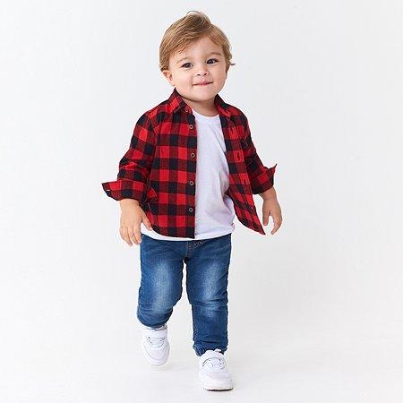 Рубашка Baby Gо красная