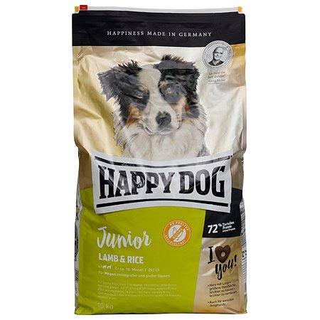 Корм для щенков Happy Dog Supreme ягненок-рис 10кг