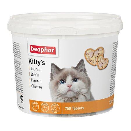 Витамины для кошек Beaphar Kyttys Mix комплекс 750таблеток