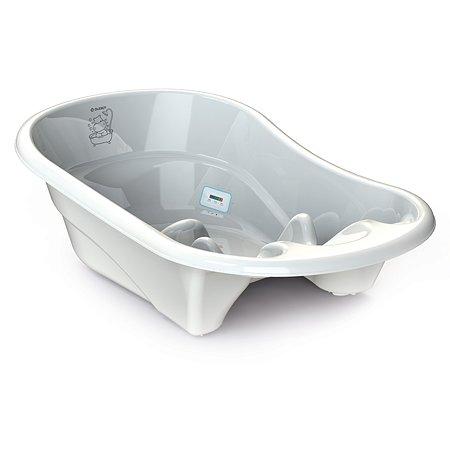 Ванночка для купания Olsson Ollie Hippo с термометром O0050101