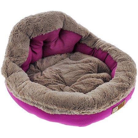 Лежак для собак и кошек Зоогурман Президент Розовая фуксия