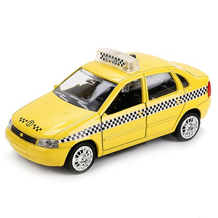 Машина Технопарк Лада Калина Такси инерционная