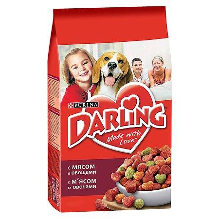 Корм для собак Darling с мясом и овощами 10кг
