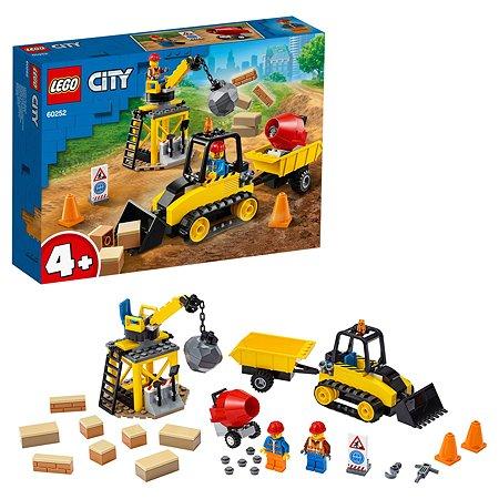 Конструктор LEGO City Great Vehicles Строительный бульдозер 60252