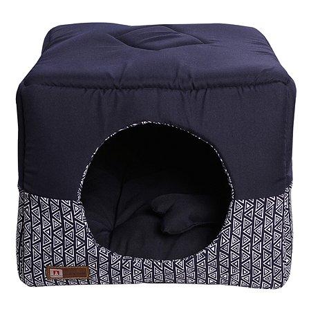 Лежак для собак и кошек Зоогурман Домосед Синий