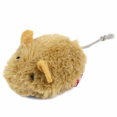 Игрушка для кошек GiGwi Мышка со звуковым чипом 75217