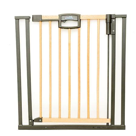 Ворота безопасности Geuther Easylock Wood Натуральный-Серебро