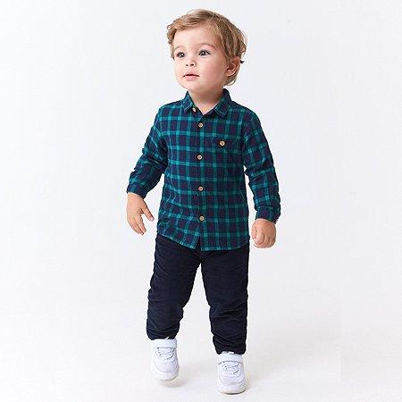 Рубашка BabyGo синяя