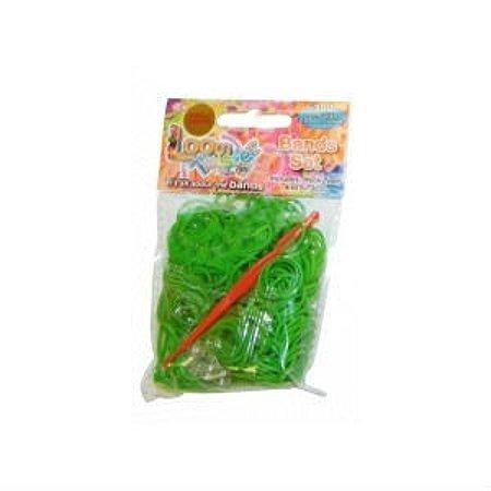 Набор для плетения браслетов LOOM TWISTER из ароматизированных резинок (зеленый)