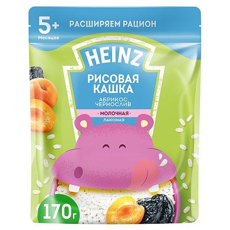 Каша Heinz Лакомая рисовая абрикос-чернослив 170г с 5месяцев