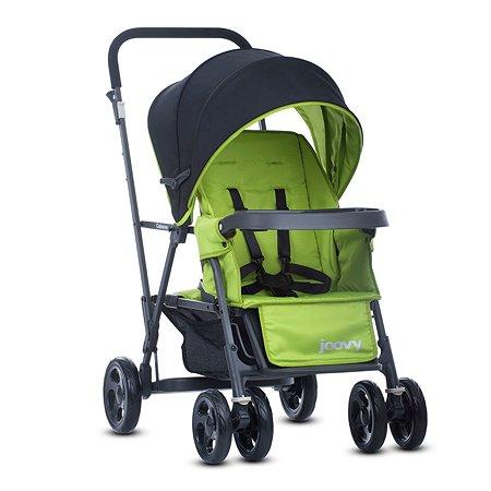 Прогулочная коляска JOOVY Caboose Graphite Зеленая