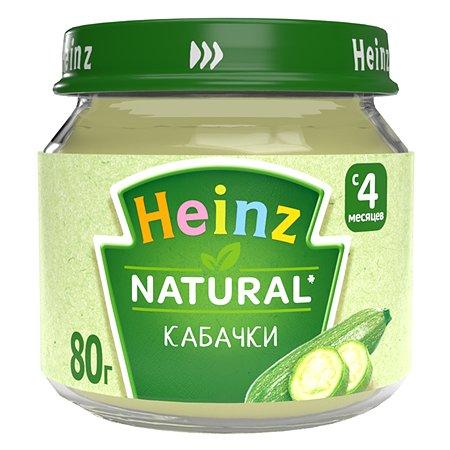 Пюре Heinz кабачки 80г с 4месяцев