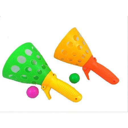 Игра Deex Слови мяч 2 ракетки 18.5 см 2 мячика 3 см в сетке