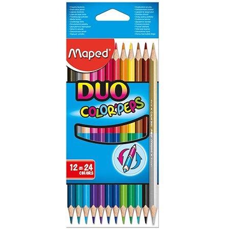 Карандаши цветные MAPED COLOR'PEPS  12 шт