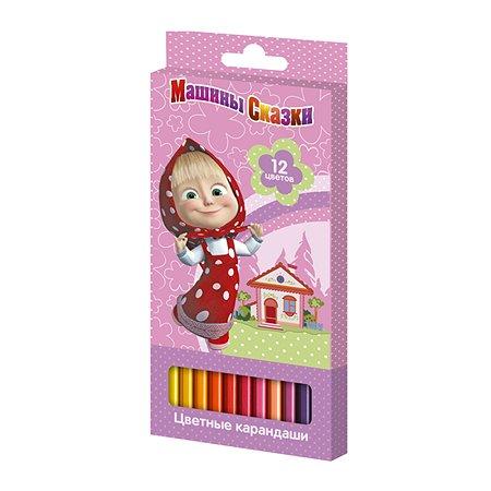 Цветные карандаши Росмэн 12цв.