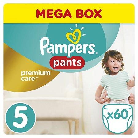 Подгузники-трусики Pampers Premium care 12-18кг 60шт